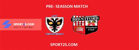 AFC WIMBLEDON VS BRENTFORD Live Score, Prediction, H2H ...