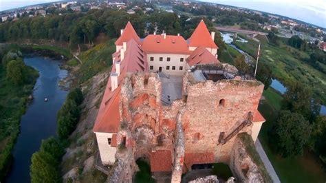 Drone. Latvija Bauskas pils. - YouTube