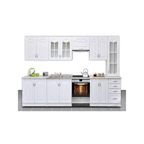 cuisine blanche pas cher cuisine equipee pas cher maison design bahbe com