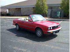 Purchase used 1987 BMW 325i Convertible Red cabrio E30
