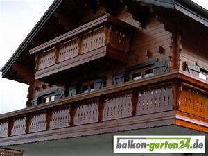 Balkongeländer Holz Einzelteile : holzbalkon berchtesgaden von balkon ~ A.2002-acura-tl-radio.info Haus und Dekorationen