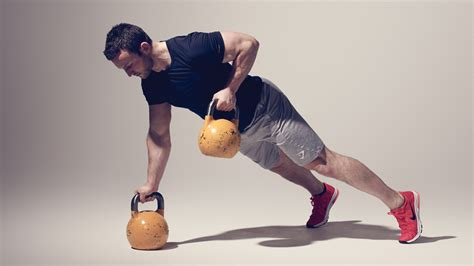 kettlebell ladder workout minute challenge row workouts coachmag