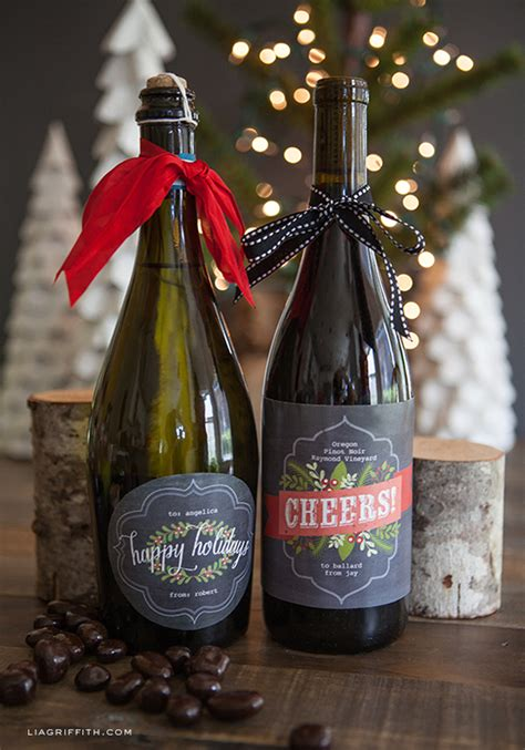 chalkboard style christmas labels  gifts