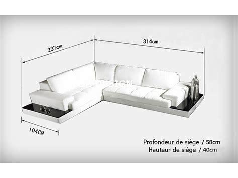 canapé faible profondeur canapé d 39 angle design en cuir loretto avec casiers de