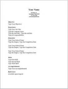 basic resume templates 2013 best photos of simple resume sles simple resume exles and sles sle basic resume