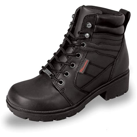 women s lightweight motorcycle boots milwaukee motorcycle clothing co women s rally black
