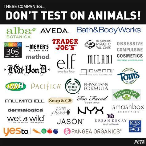 Cruelty-Free Companies: These DO NOT Test on Animals | PETA