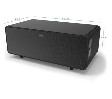 While you're browsing our trendy selection of light coffee tables, use our filter options to discover all the coffee tables colors, sizes, materials, styles, and more we have to offer. Sobro Smart Coffee Table with Built-In Mini Fridge - QVC.com