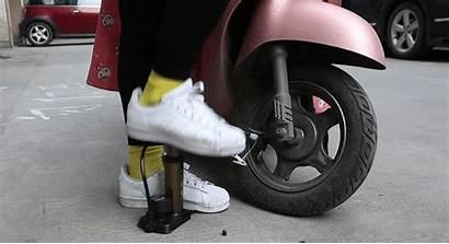 Pump Bike Pressure Hose Portable Psi Gauge