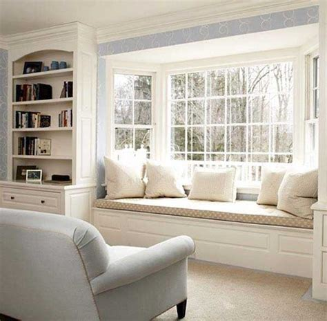 16 Attractive Window Seat Designs For Pleasant Relaxation