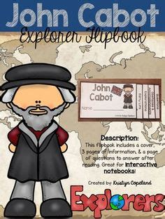 john cabot coloring page italian explorer mystery