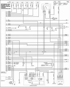 Mitsubishi Galant Motor Diagrama