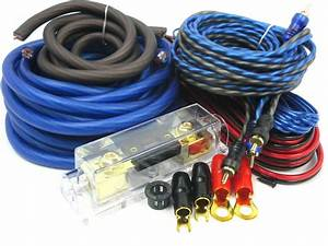 Gravity 4 Gauge Amp Kit Amplifier Install Wiring Set  Ofc
