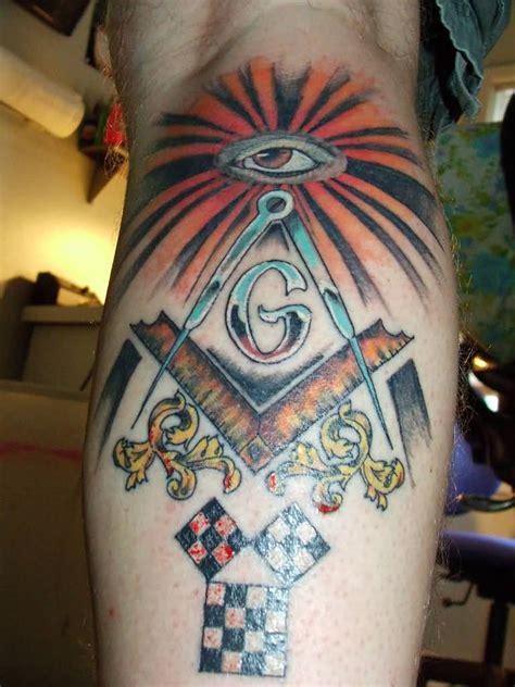mind blowing masonic tattoos