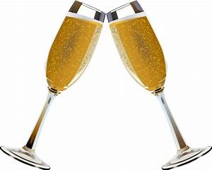 Champagne clipart champagne toast - Pencil and in color ...