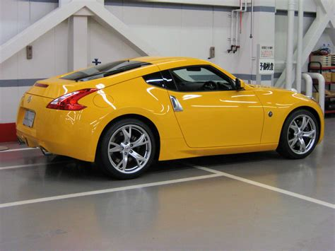 nissan yellow official chicane yellow 370z thread nissan 370z forum