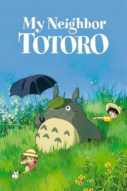 Totoro Neighbor 1988 Poster Posters Anime Wallpapers