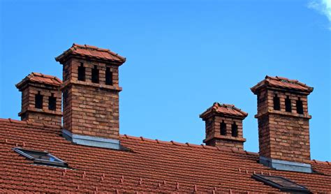 A chimney is a pipe through which smoke goes up into the air, usually through the roof of a building. Different Types Of Chimneys | heatwhiz.com