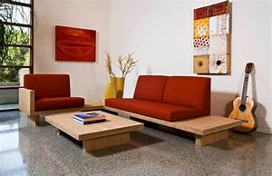 sofa designs for small living rooms with round wooden With wooden sofa designs for small living rooms