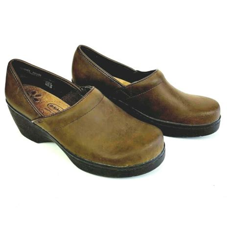 Not valid on previous purchases. Dr Scholl's Clogs Women 8 Brown Bernice Leather Slip On ...