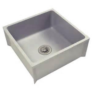 mop sink basin fiberglass 24 quot x 24 quot x 10 quot high zurn z1996 24 mop sinks zesco