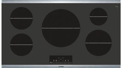 series  induction cooktop nitsuc black  stainless steel frame  appliances