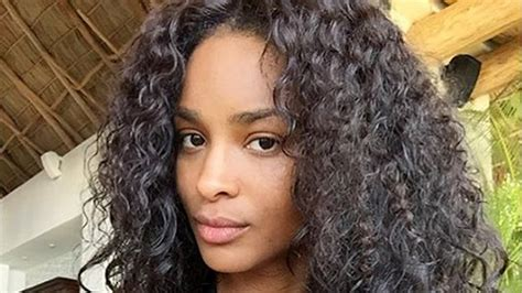 The Secret To Ciara's Perfect Vacation Curls Is Easier