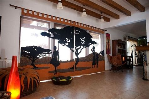 African Themed Interior Design From Care?cutare