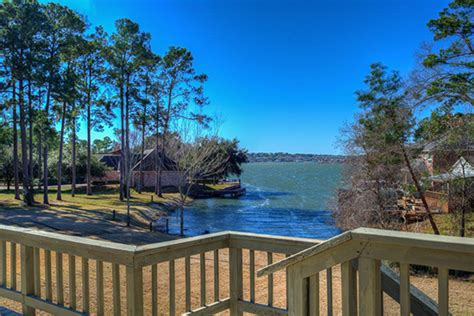 lake conroe cabins waterview homes at unforgettable lake conroe montgomery