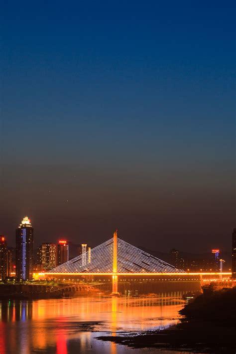 planet show   evening twilight  chongqing