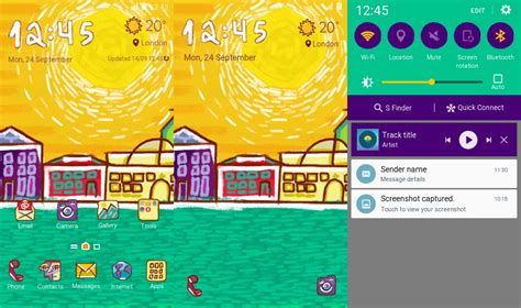 Ten New Themes Launched In The Samsung