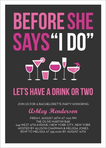 Bachelorette invitation sayings and quotes stopboris Gallery