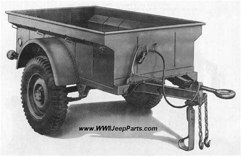 jeep 1 4 ton trailer page willys mbt bantam t 3 m 100 m 416 k 38