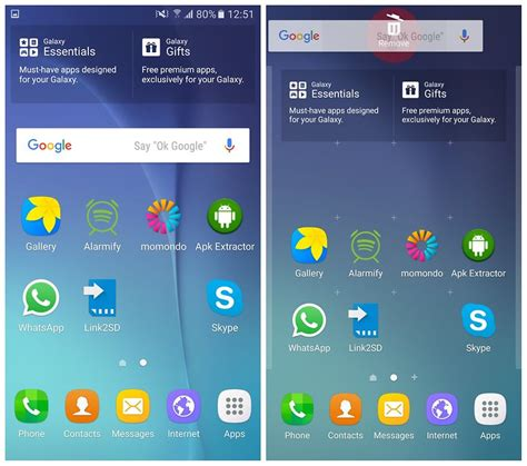 search by image android how to remove the search bar from your android