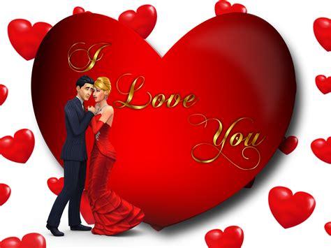 love  loving couple red heart desktop hd wallpaper