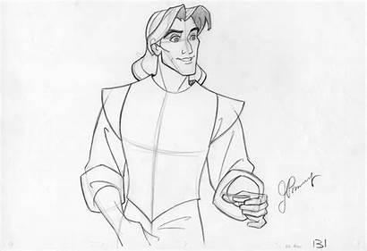 Pocahontas Disney John Concept Smith Character 1995