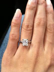 radiant engagement rings best 20 radiant cut ideas on radiant cut engagement rings radiant cut and