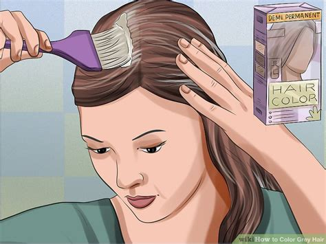 How To Color Grey Hair (with Pictures)