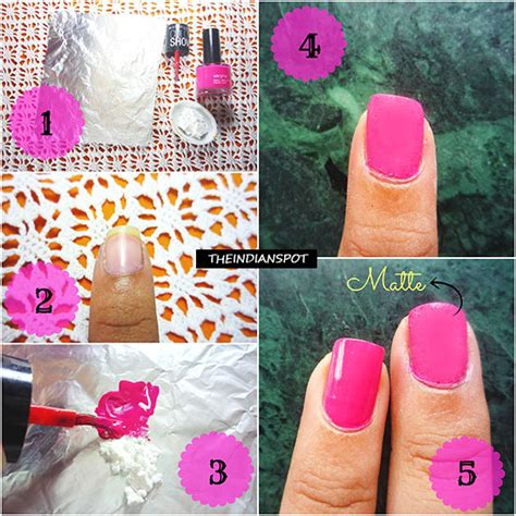 turn  nail polish  matte nail polish theindianspot