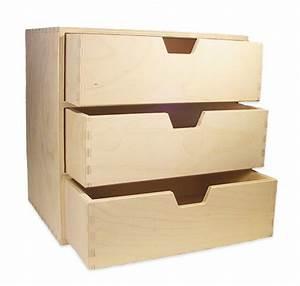 Schmales Regal Mit Schubladen : stabiles schubladen regal mit 3 gro en schubladen holz unbehandelt ebay ~ Orissabook.com Haus und Dekorationen