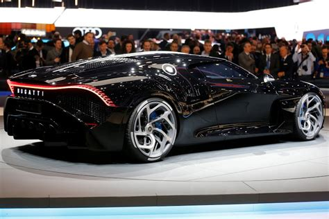 Bugatti La Voiture Noire Revealed At Geneva Motor Show Is