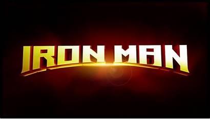 Iron Logos Title Marvel 2008 Designs Unused