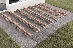 Lambourde Pour Terrasse Bois : cale d appui en caoutchouc pour lambourde de terrasse ~ Premium-room.com Idées de Décoration