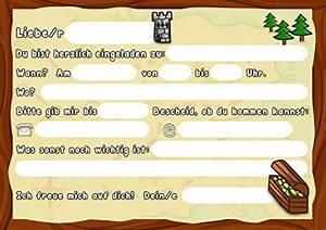 Kindergeburtstag 12 Jährige Jungs : sophies kartenwelt 12 einladungskarten kindergeburtstag pirat geburtstagseinladungen kinder ~ Frokenaadalensverden.com Haus und Dekorationen