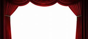 Stage curtains clipart png for Blue theatre curtains png
