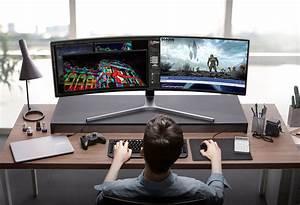 Samsung CHG90 QLED Gaming Monitor Gadget Flow
