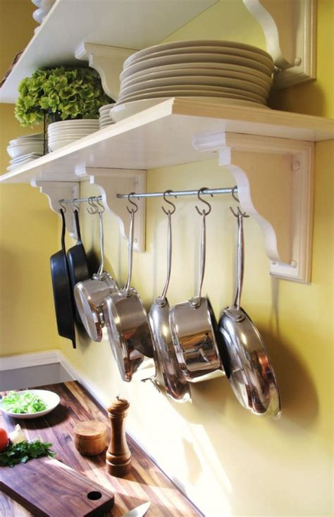 cool kitchen pots  lids storage ideas digsdigs