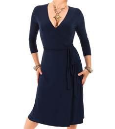length bridesmaid dresses navy blue wrap dress
