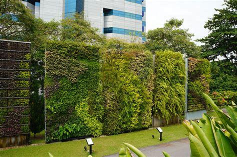 Vertical Garden Facade by Green Walls Singapore Hortpark Green Walls Vertical