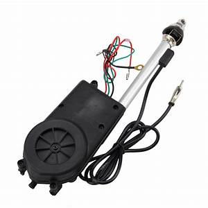 Electric Power Antenna Am  Fm Mast Replacement 12v Gm